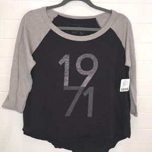 NWT free people baseball tee!